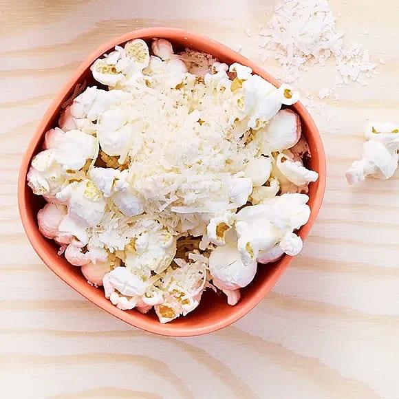 Parmesanpopcorn
