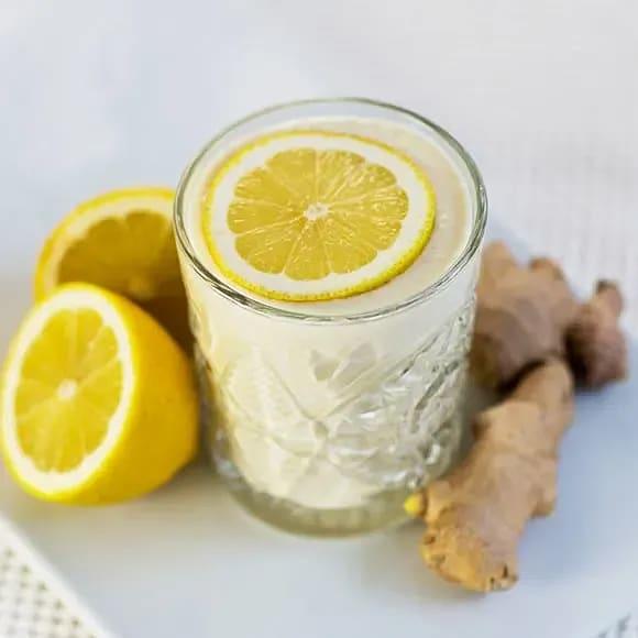 Smoothie med ingefära och citron