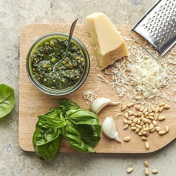 Pesto med basilika
