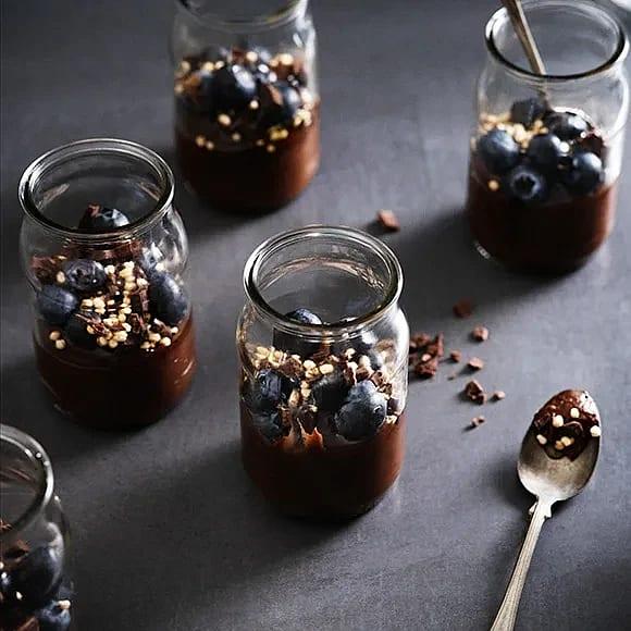 Chokladmousse med avokado