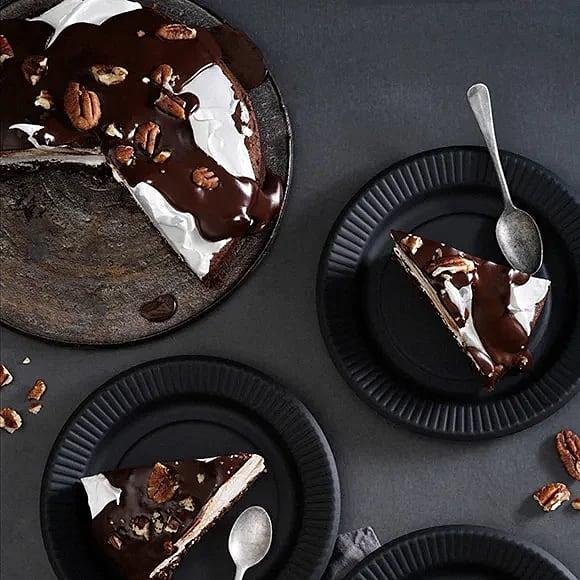 Chokladkaka med italiensk maräng