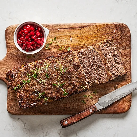 Köttfärslimpa i ugn