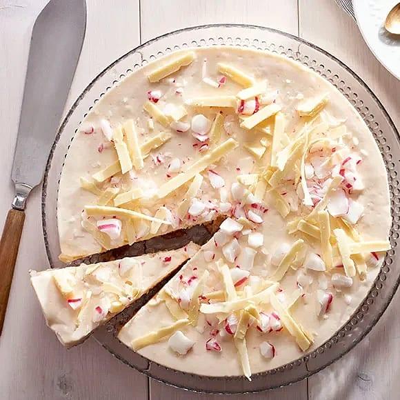 Polkagrischeesecake