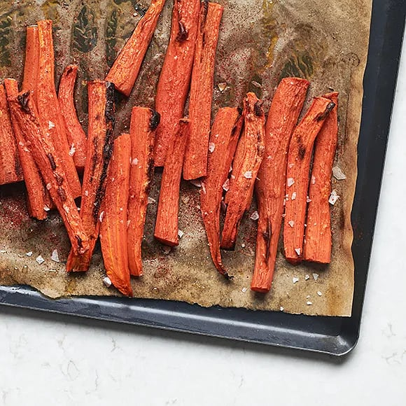 Ugnsrostade morötter