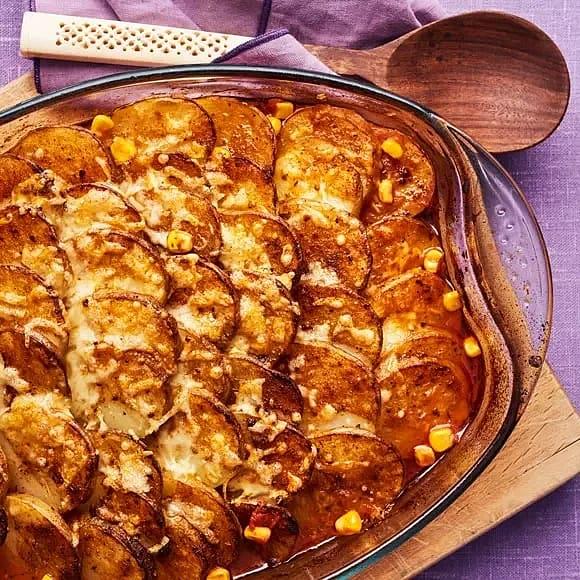 Allt i en ugnsform - tacogratäng med potatis