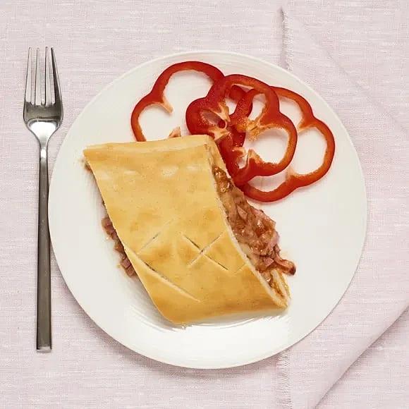 Pizzapirog med skinka