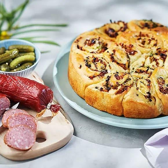 Brytbröd med örter