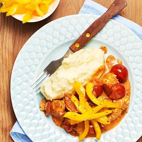 Kalkongryta med potatismos