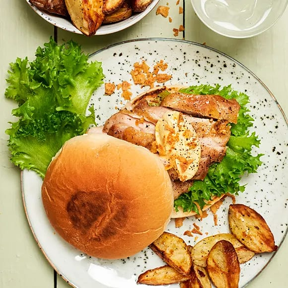 Kycklingsteak med currydipp