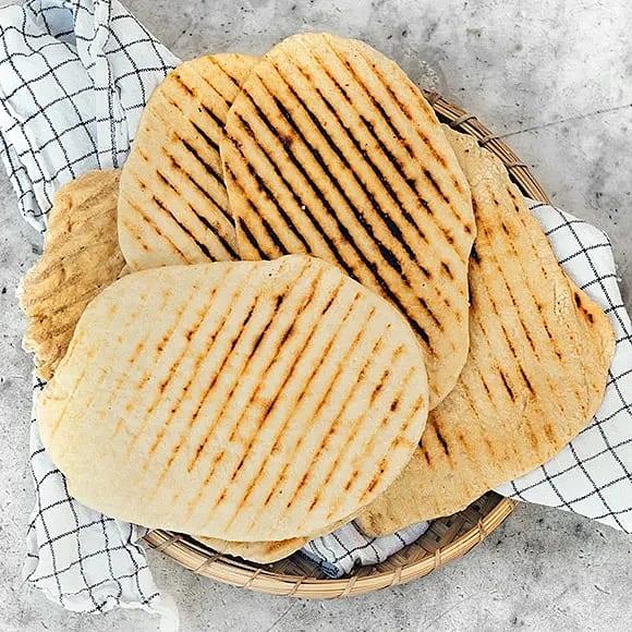 Grillade parmesanbröd