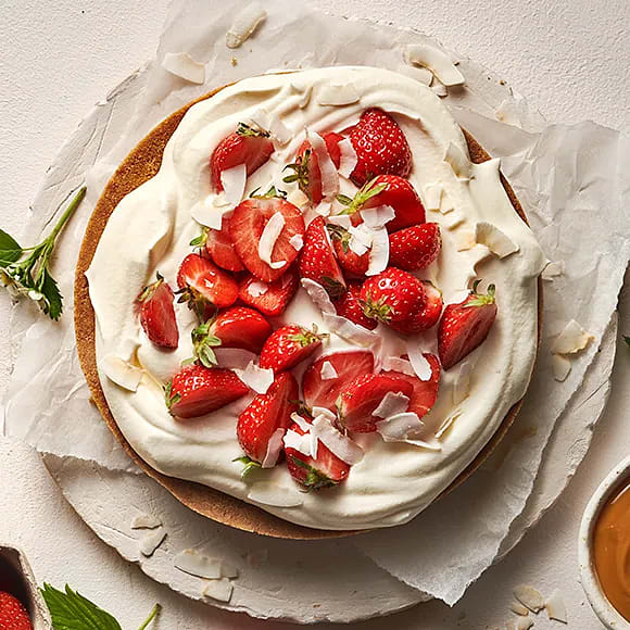 Snabb sommartårta
