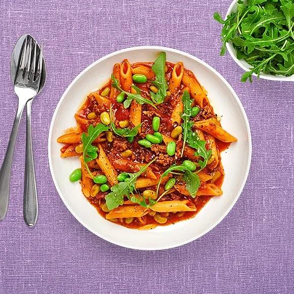One pot pasta och köttfärssås