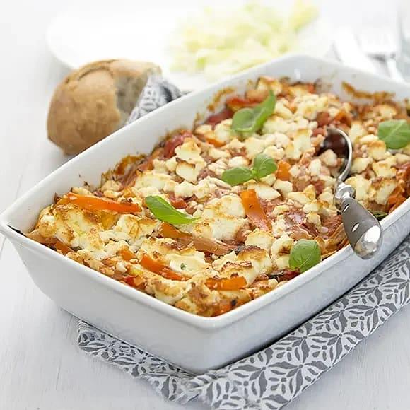 Gudruns gröna lasagne