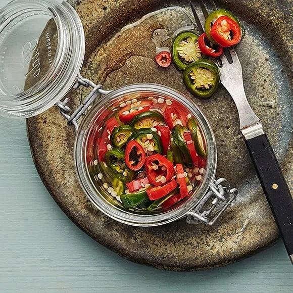 Snabbpicklad chili
