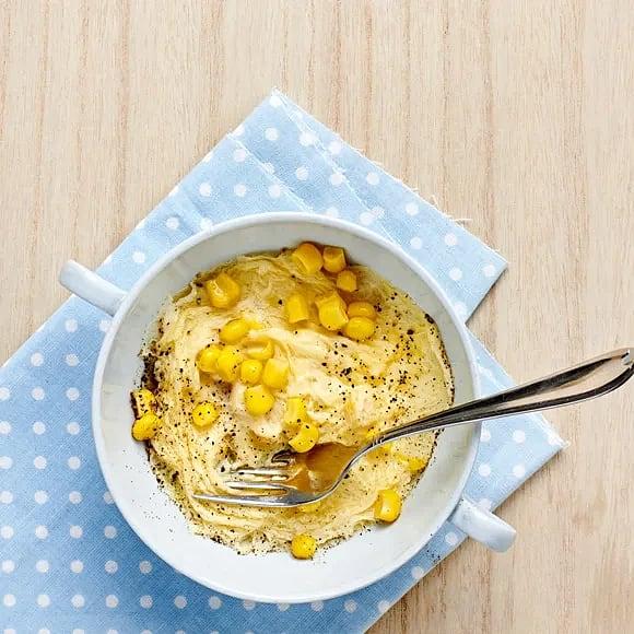Äggröra med majs