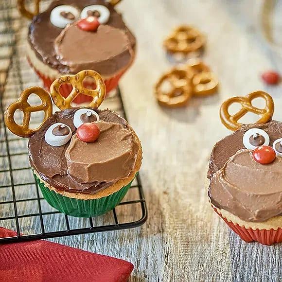 Julmuffins à la Rudolf