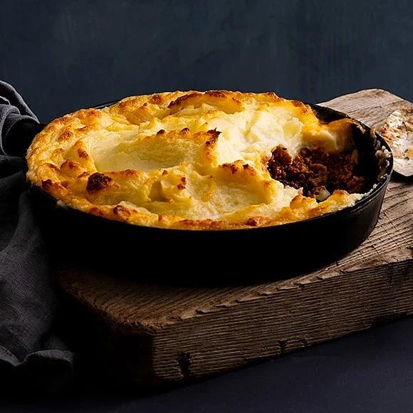 Vegansk shepherd's pie