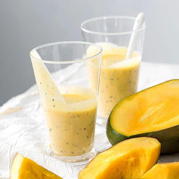 Tropisk dröm med mango och passionsfrukt