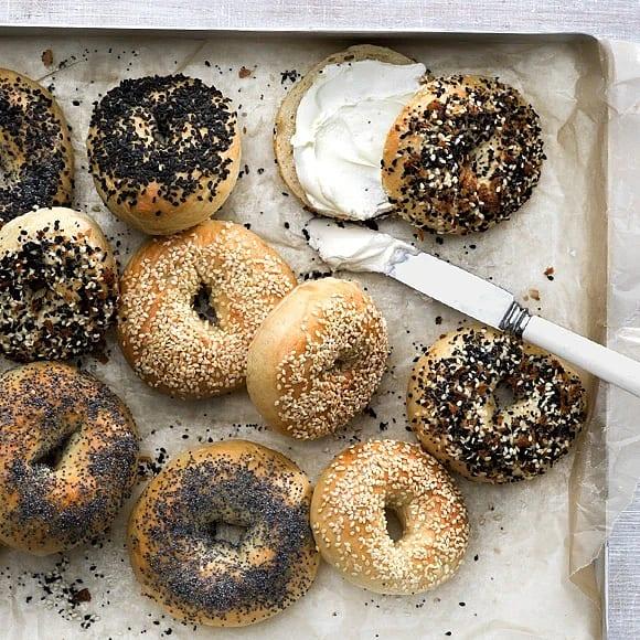 Hemgjorda bagels