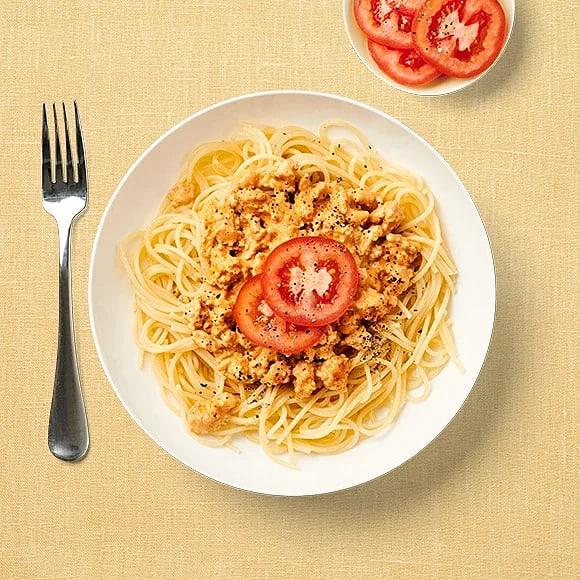 Kycklingpasta med tomater