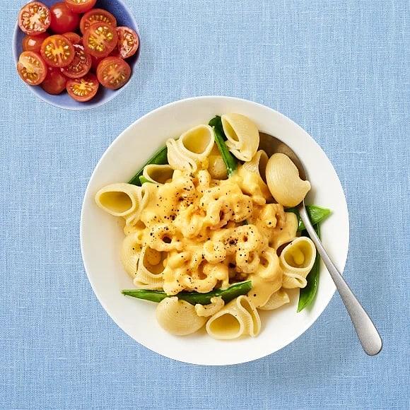 Räkcurry med pasta
