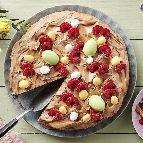 Chokladtårta till påsk
