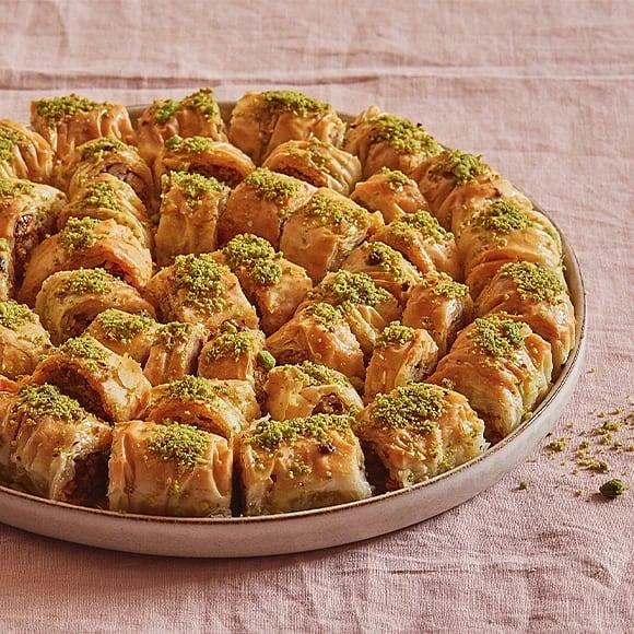 Baklava med pistage och kardemumma
