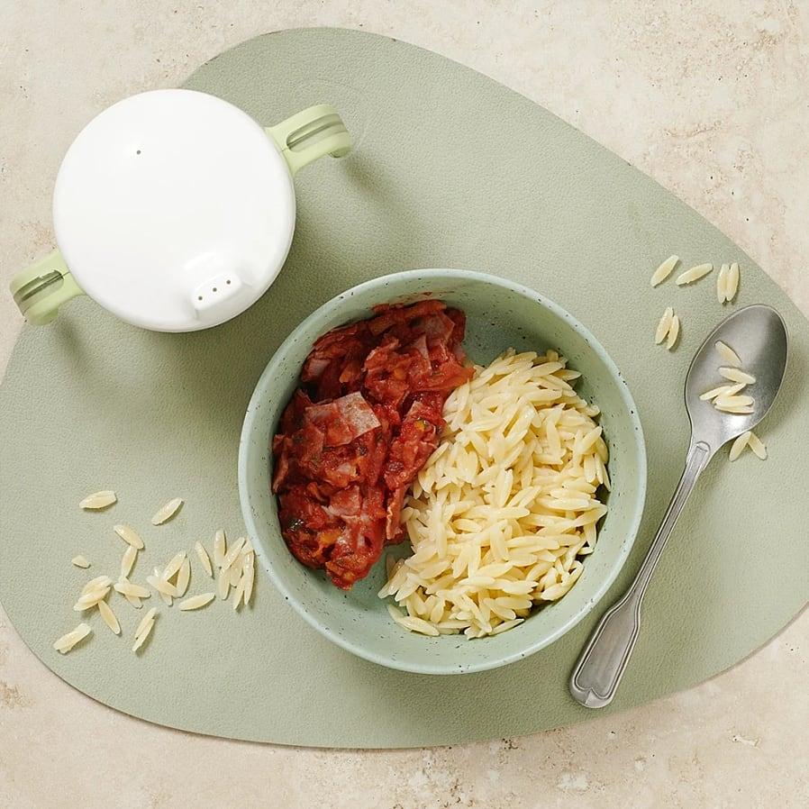 Skinkpasta med tomat