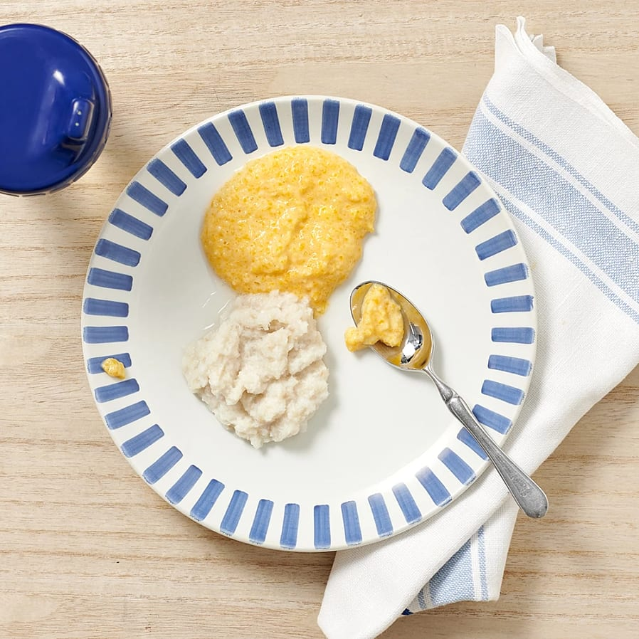 Torsk i potatis- och morotspuré