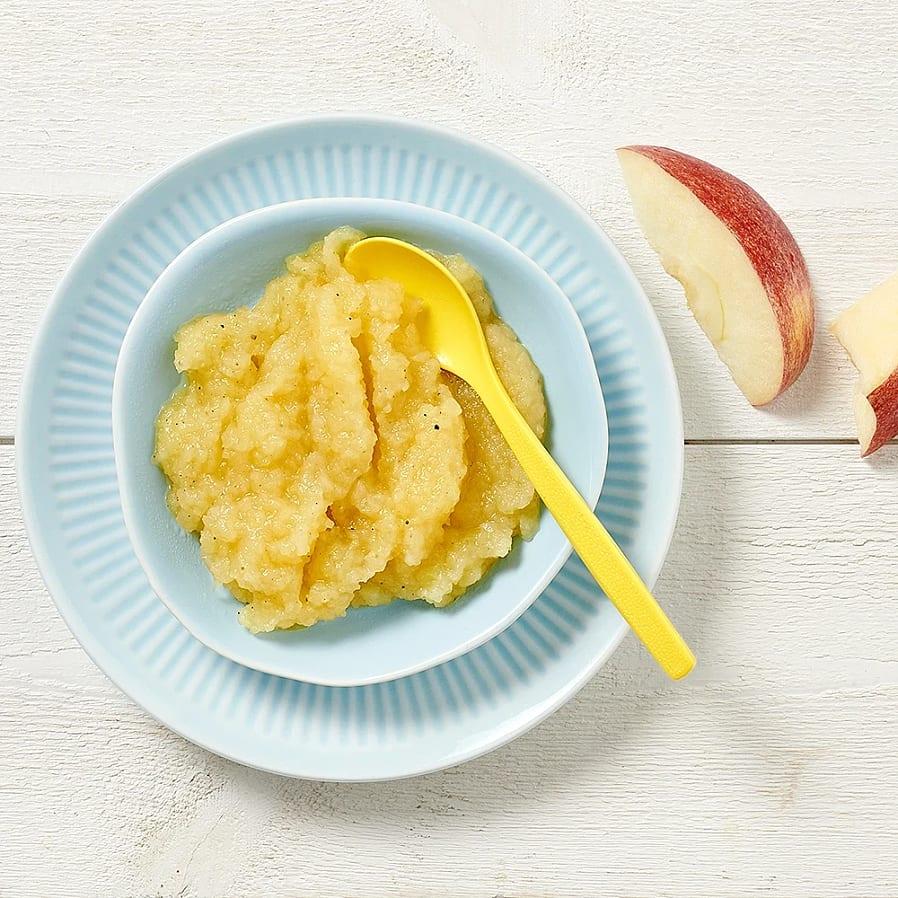 Äppelkompott för barn