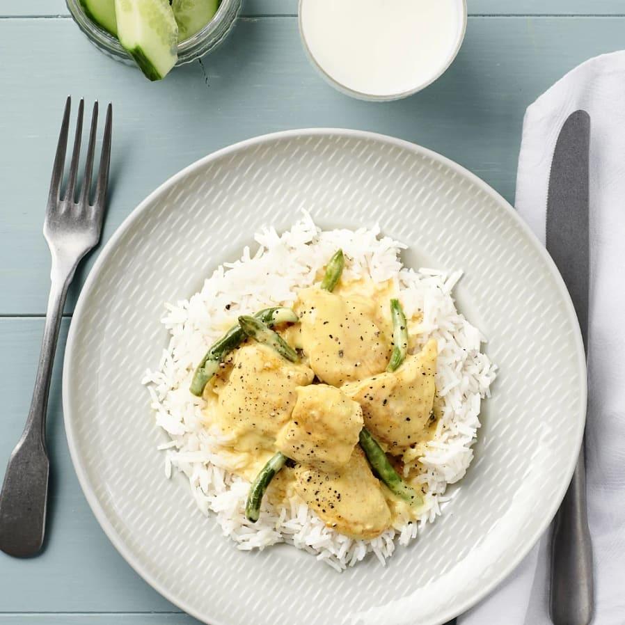 Chicken curry nam nam