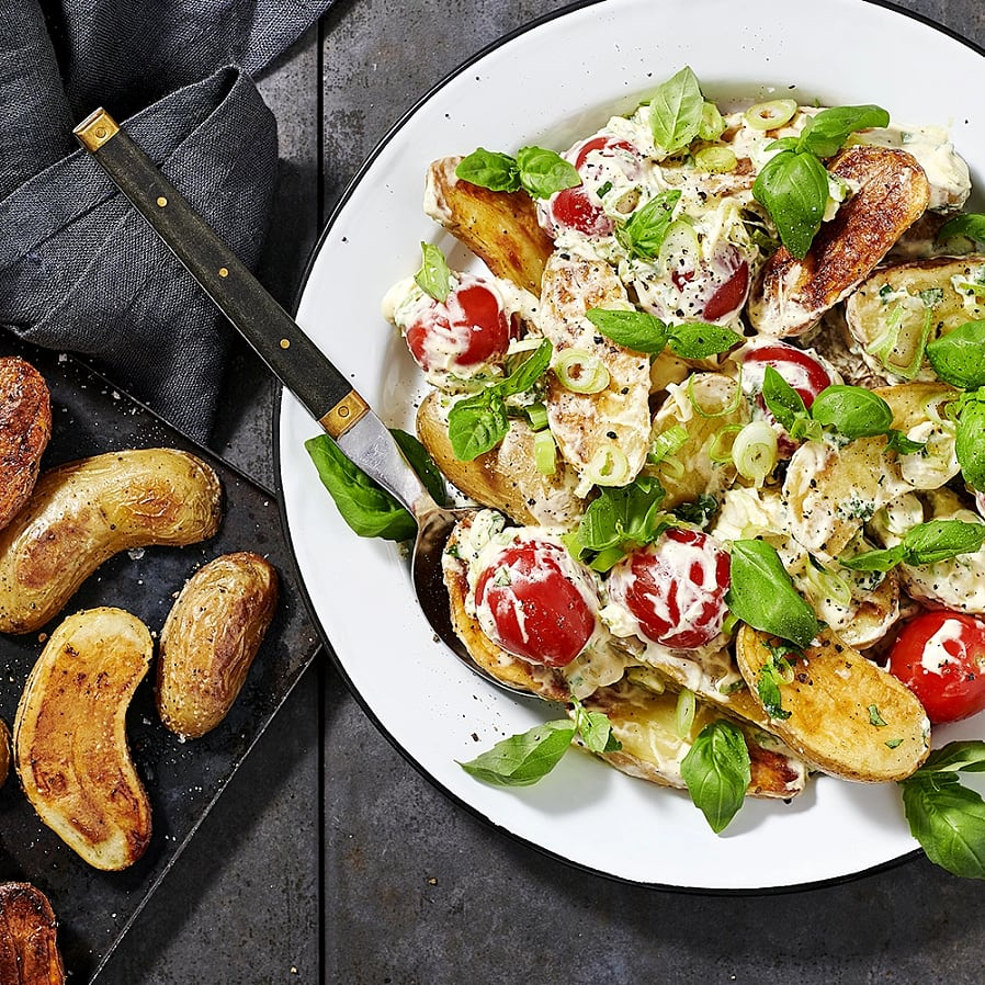 Rostad la vie potatis med dijonsmetana
