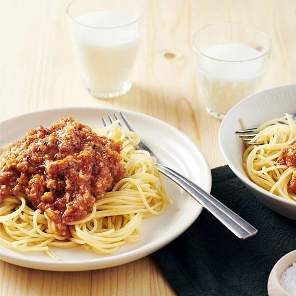 Spaghetti med vegobolognese