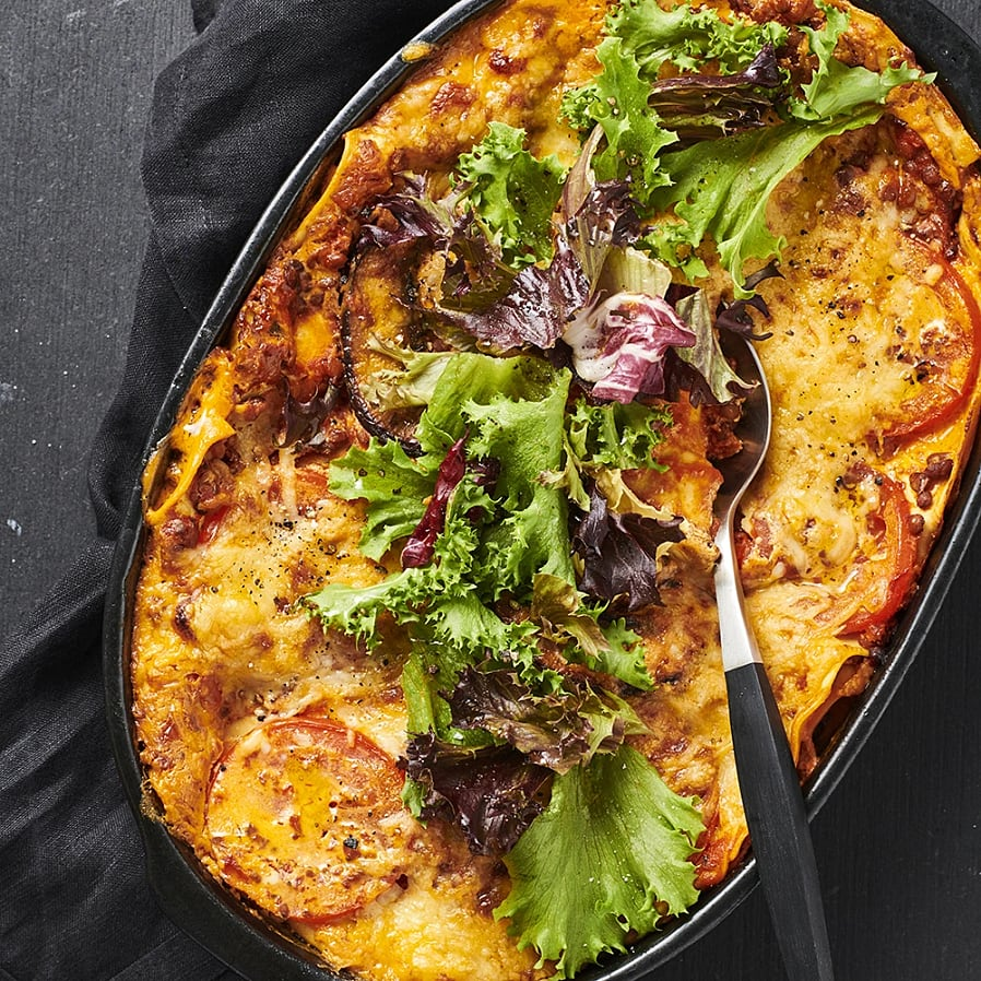 Lasagne med portabello