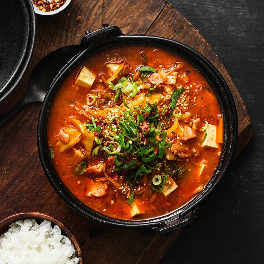 Kimchi jjigae – Koreansk kimchigryta