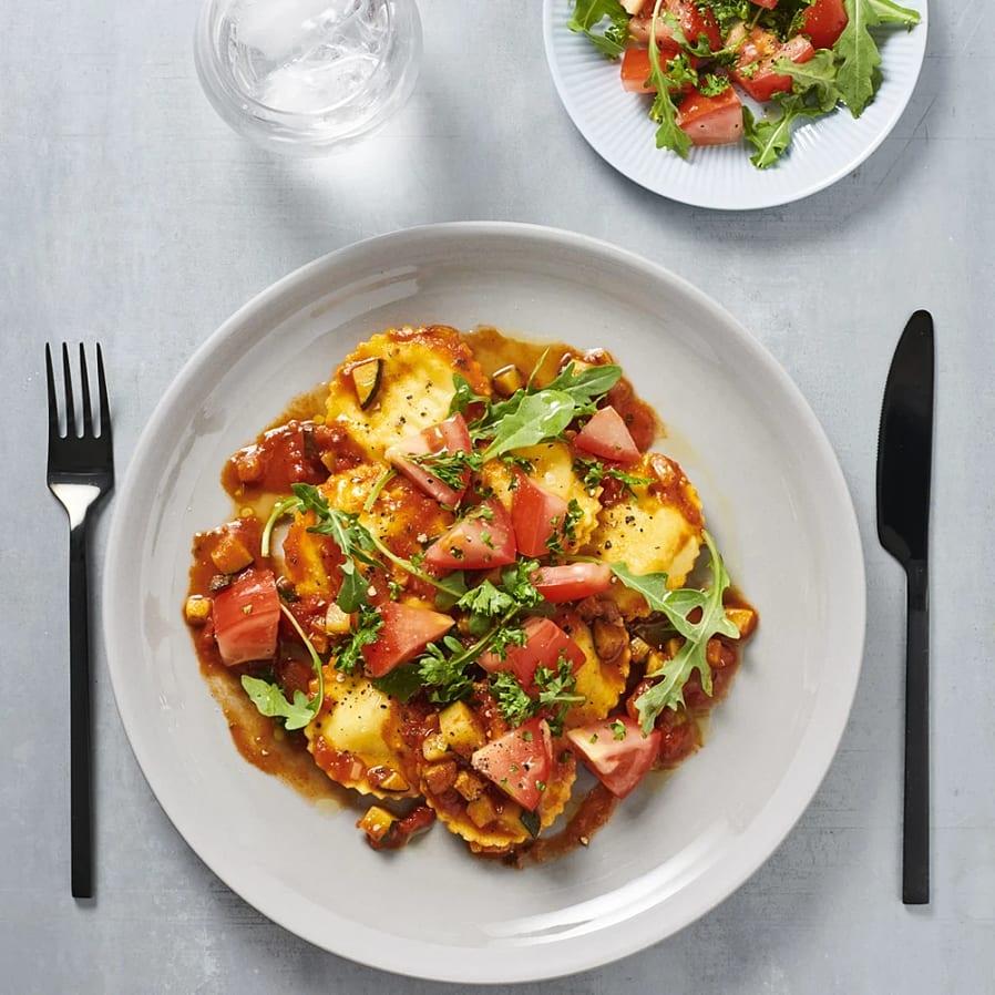 Girasole med tomat- och rucolasallad