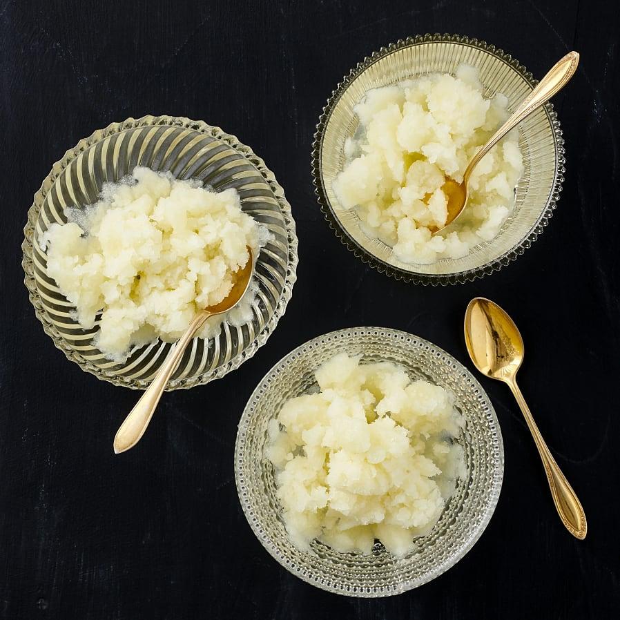 Äppelgranité med ingefära