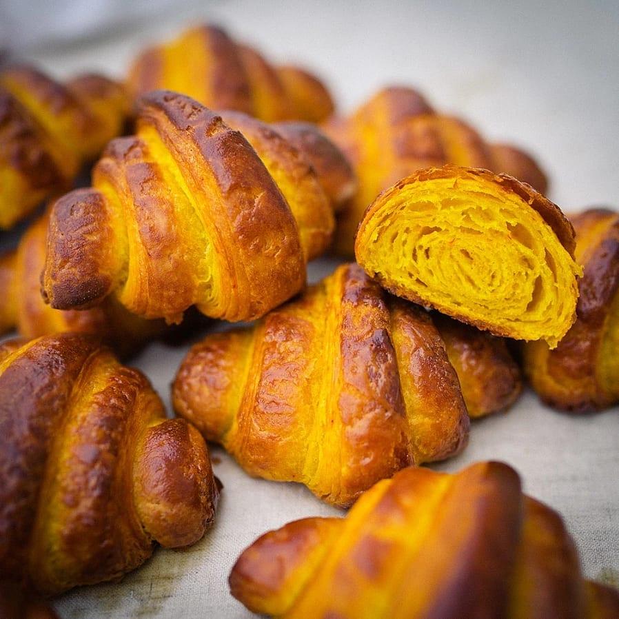 Croissanter med saffran