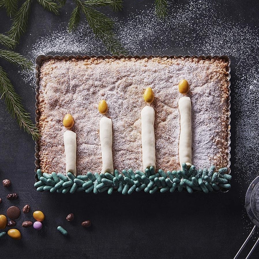 Adventskaka med apelsin och kardemumma