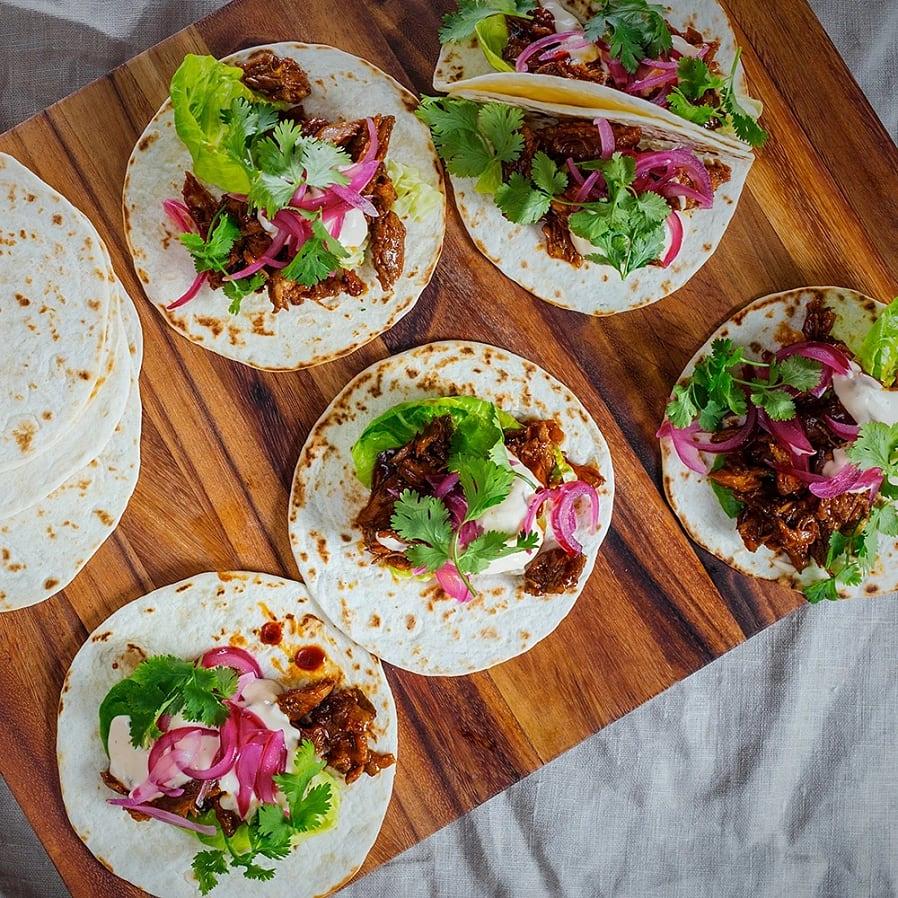 Taco med revbensspjäll