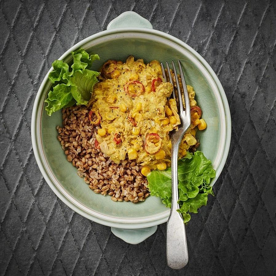 Tonfiskröra med curry