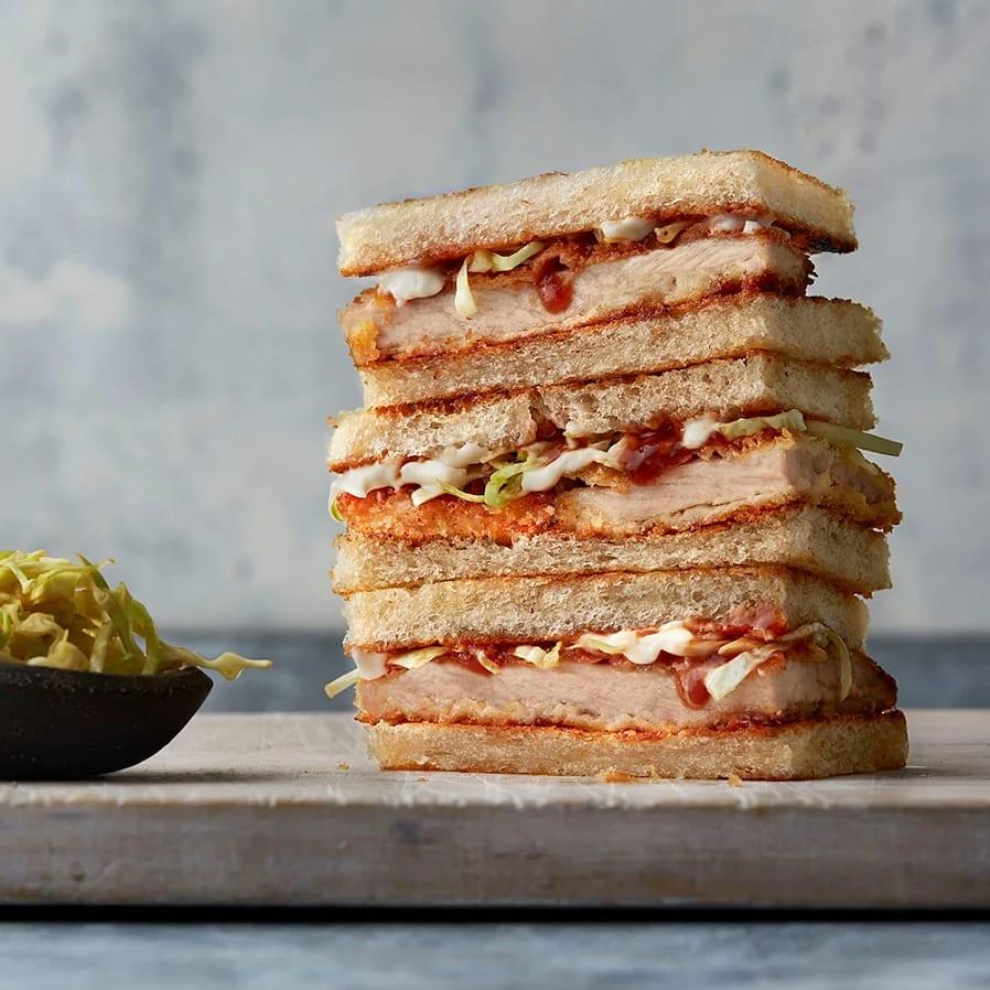 Katsu sando – Japansk sandwich med schnitzel