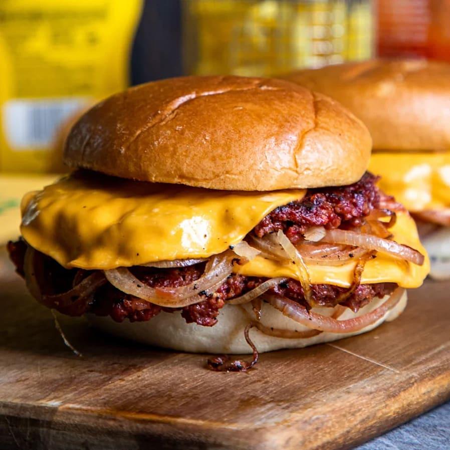 Smash burger från Oklahoma