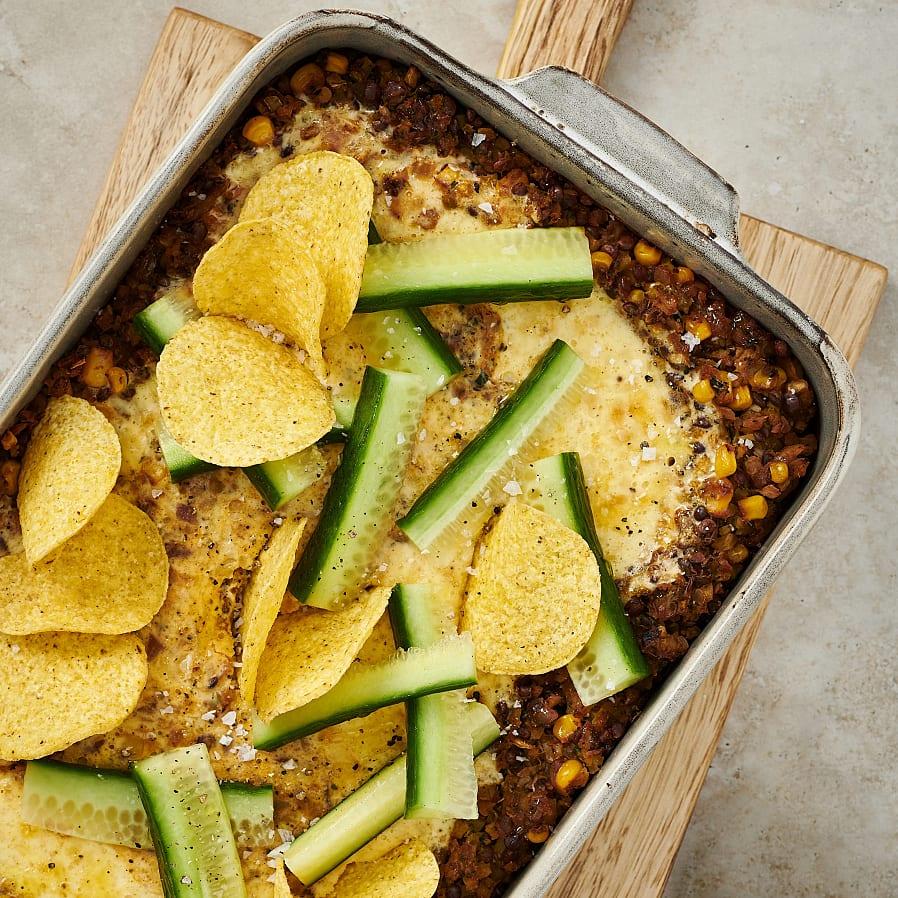 Tacogratäng med grönsaker