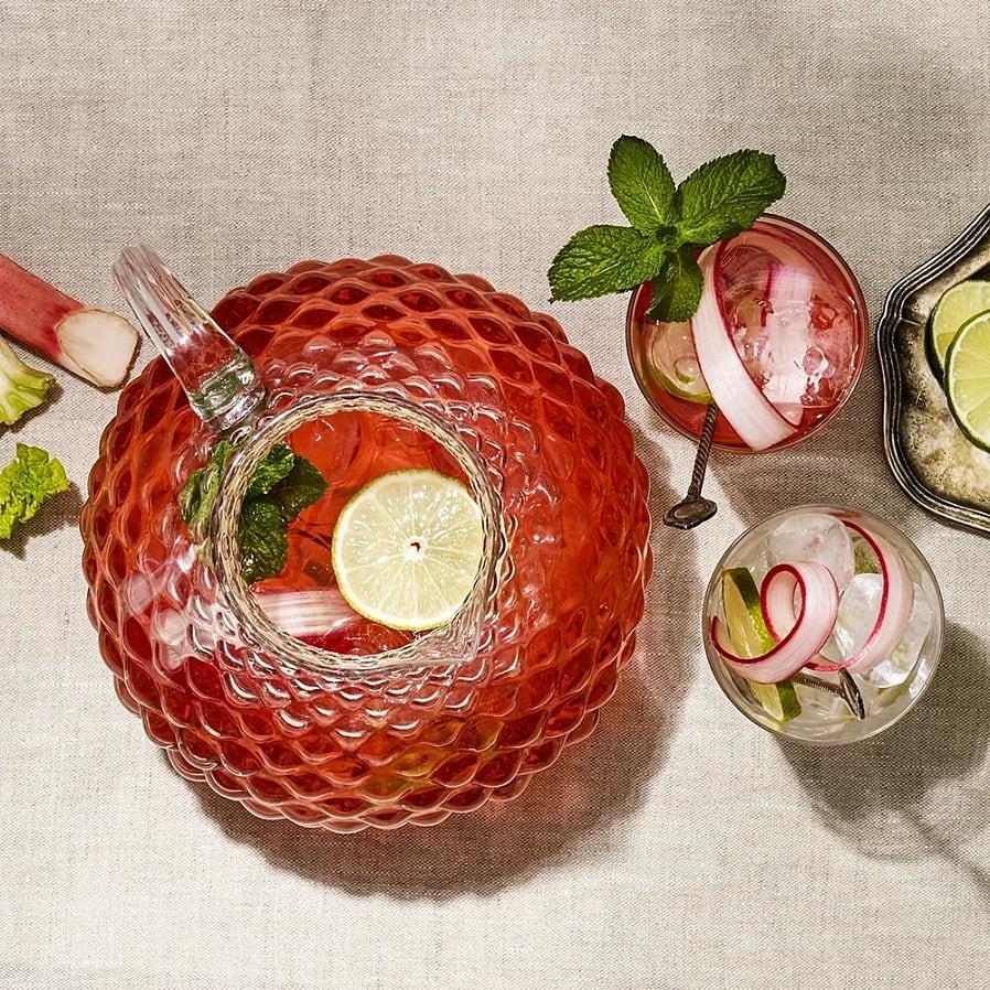 Rabarberlemonad med lime