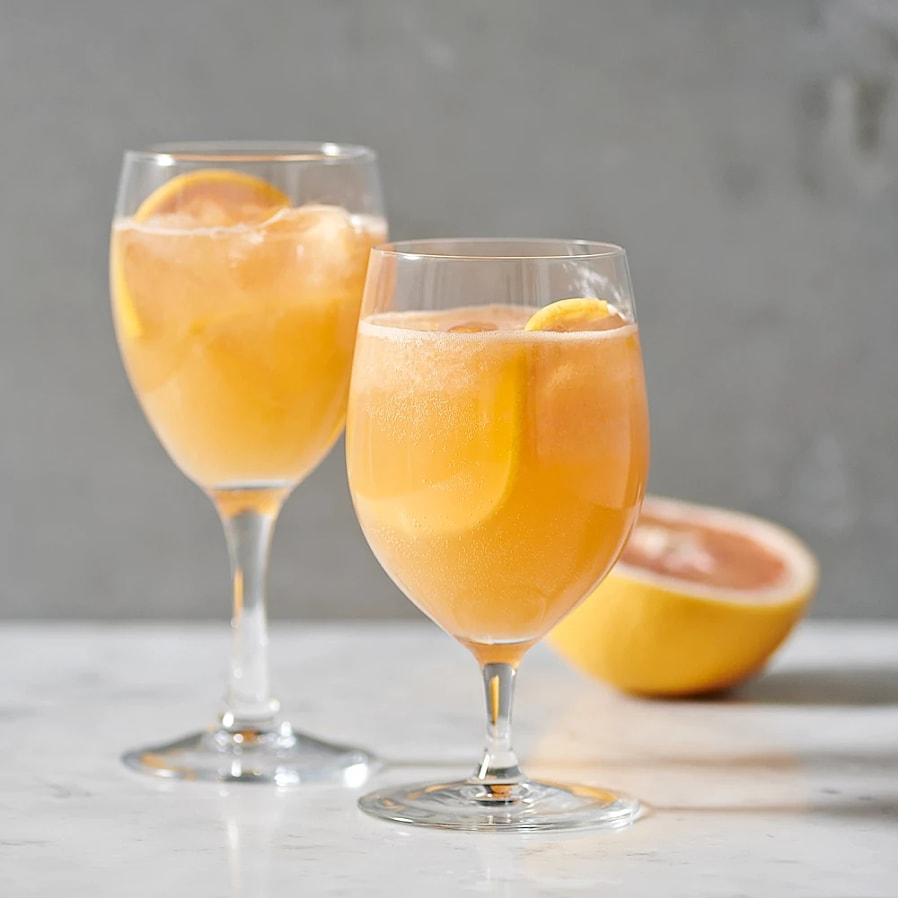 Alkoholfri Aperol spritz