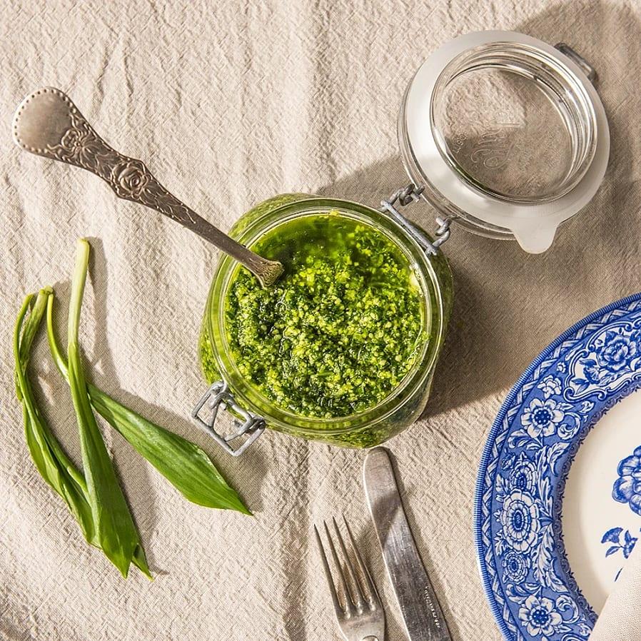 Pesto med ramslök