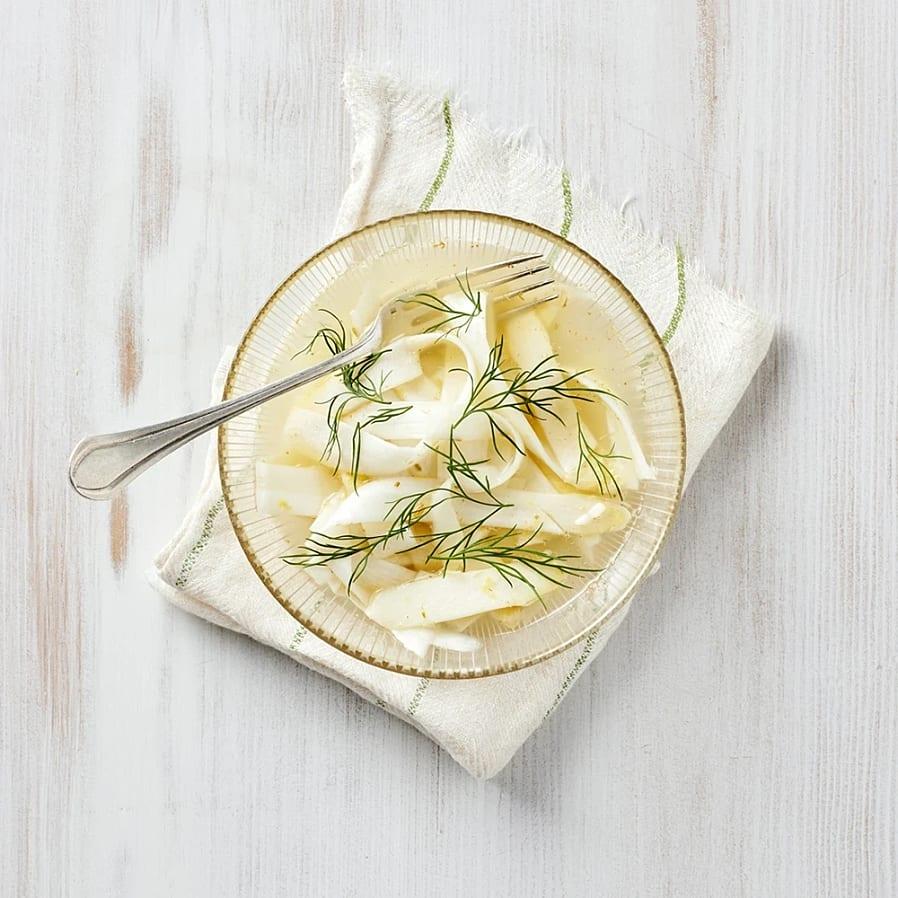 Citronpicklad vit sparris