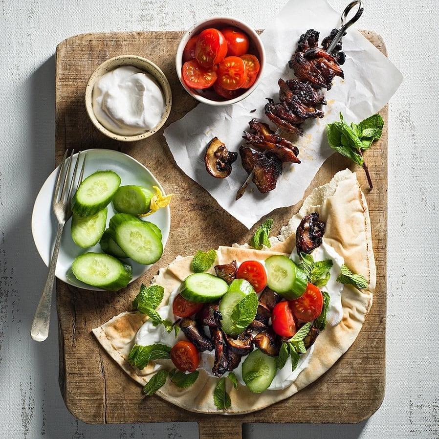 Svamp-shawarma – Vego kebab