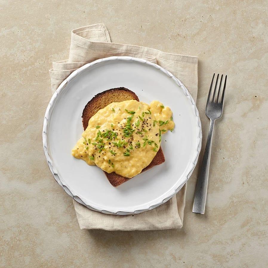 Äggröra med crème fraiche